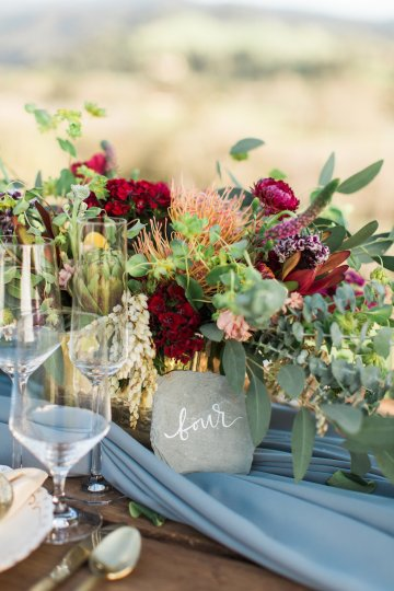 Romantic Gold, Grey and Berry Vineyard Wedding Inspiration | Jenny Quicksall & An Enlightened Event 57