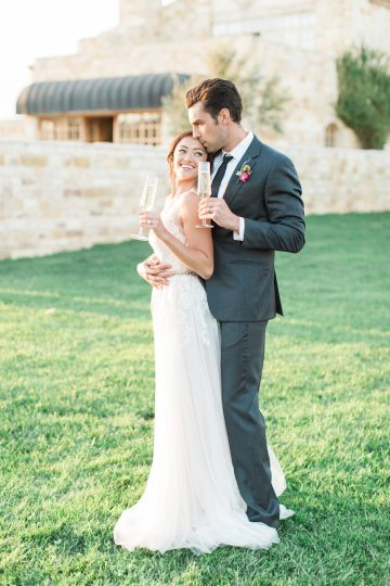 Romantic Gold, Grey and Berry Vineyard Wedding Inspiration | Jenny Quicksall & An Enlightened Event 65