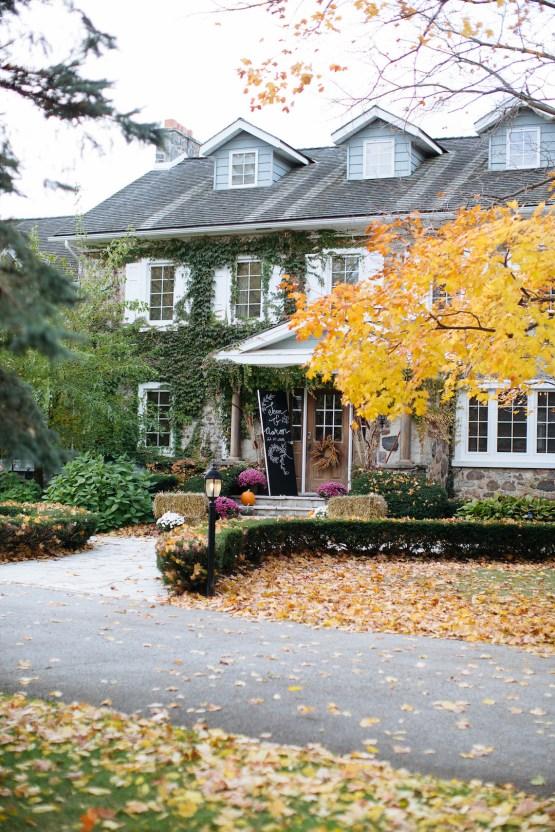 Rustic Autumnal Toronto Wedding | Laura May 69