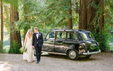 Whimsical Wedding in the Redwoods