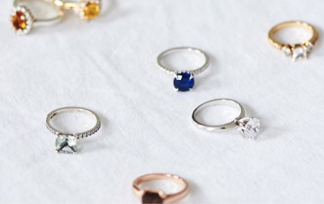 12 Of The Most Dazzling Birthstone Engagement Rings For Every Month Of The Year