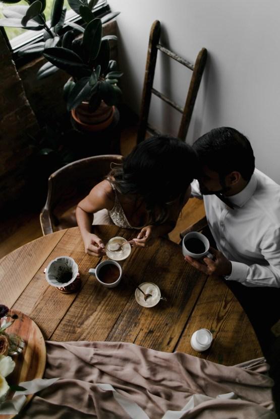 Cozy & Intimate Coffee Shop Elopement Inspiration   Grace Niu Avila 22