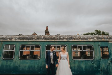 East Anglian Railway Museum Wedding | Remain in Light Photography | Bridal Musings 22