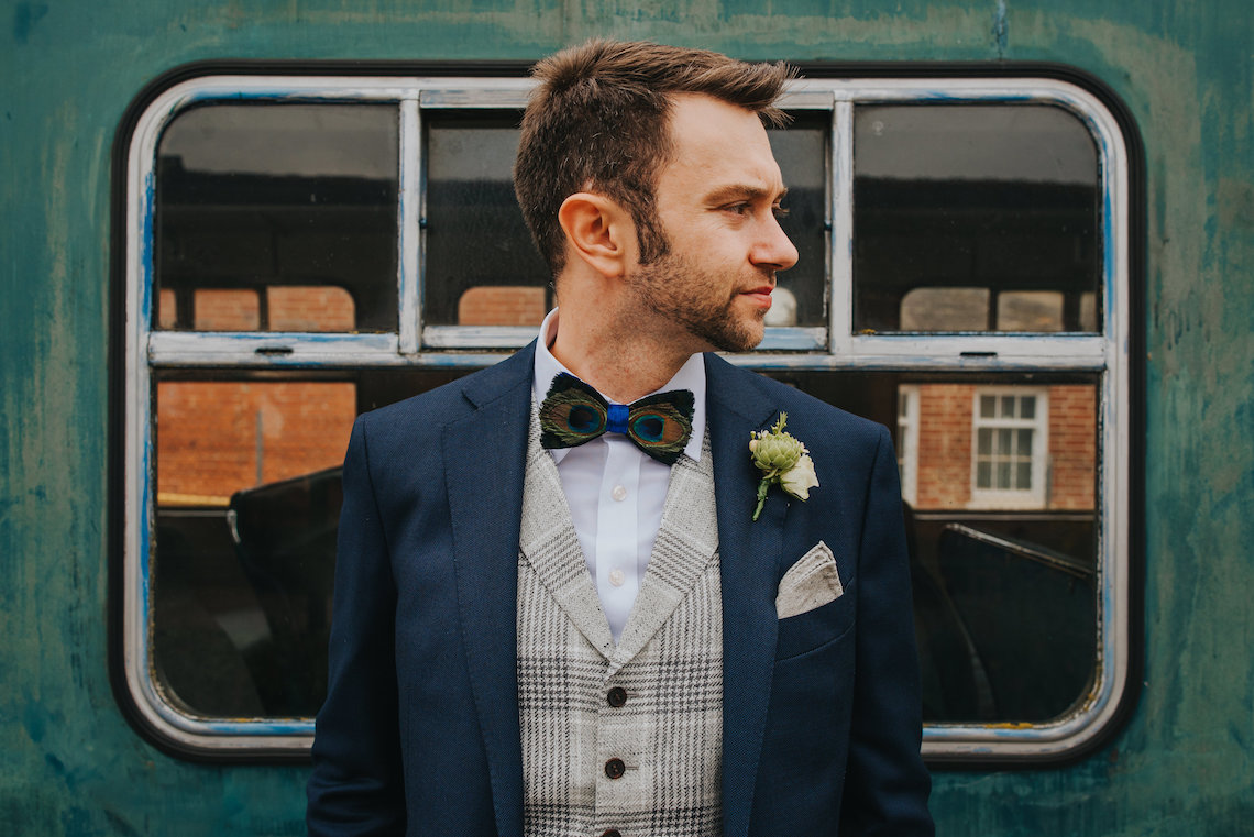 East Anglian Railway Museum Wedding | Remain in Light Photography | Bridal Musings 25