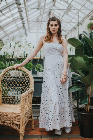 Festival Bridal Style For The Rock And Roll Bride 25