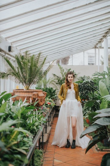 Festival Bridal Style For The Rock And Roll Bride 35