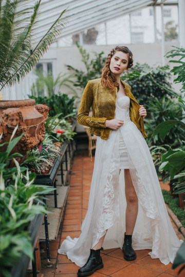 Festival Bridal Style For The Rock And Roll Bride 37