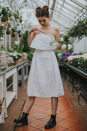 Festival Bridal Style For The Rock And Roll Bride 70