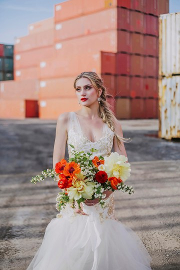 Stylish, Cool & Colorful Shipping Container Styled Shoot | Olive Studio 18