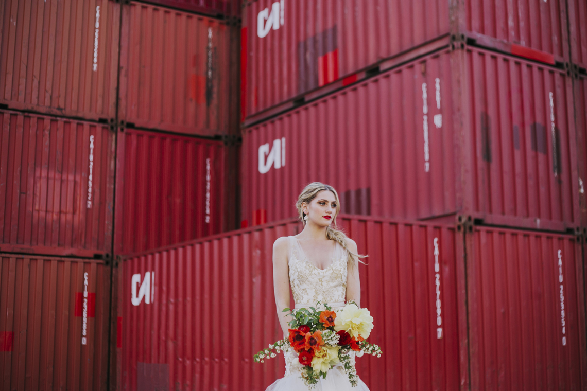 Stylish, Cool & Colorful Shipping Container Styled Shoot | Olive Studio 40