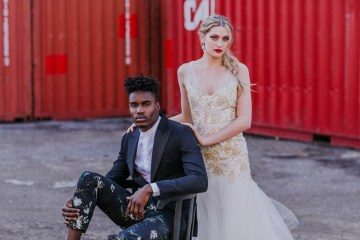 Stylish, Cool & Colorful Shipping Container Styled Shoot | Olive Studio 43