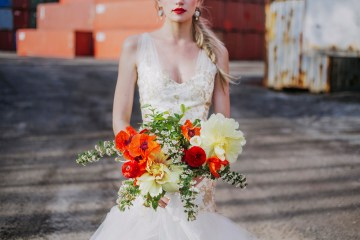 Stylish, Cool & Colorful Shipping Container Styled Shoot | Olive Studio 44