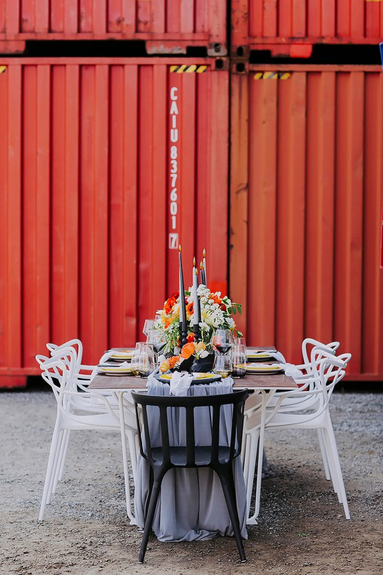 Stylish, Cool & Colorful Shipping Container Styled Shoot | Olive Studio 7