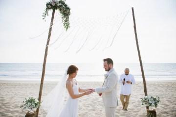 The Dreamiest Sunset Beach Wedding in Thailand   Darin Images 11