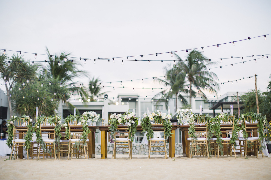 The Dreamiest Sunset Beach Wedding in Thailand | Darin Images 17