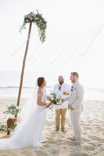 The Dreamiest Sunset Beach Wedding in Thailand   Darin Images 38