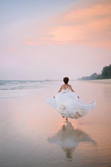 The Dreamiest Sunset Beach Wedding in Thailand   Darin Images 51