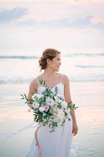 The Dreamiest Sunset Beach Wedding in Thailand   Darin Images 53