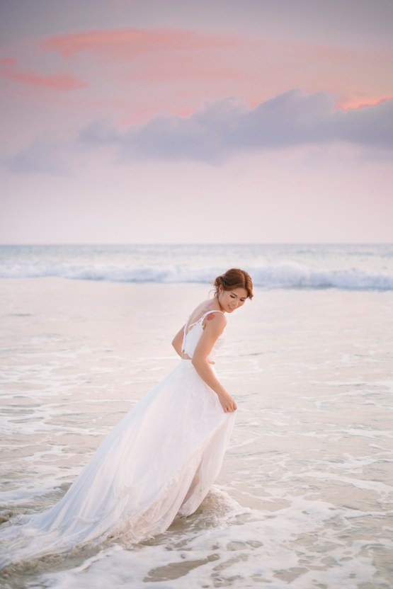 The Dreamiest Sunset Beach Wedding in Thailand | Darin Images 55