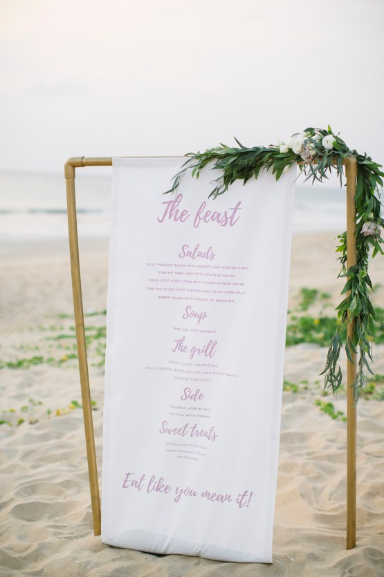 The Dreamiest Sunset Beach Wedding in Thailand | Darin Images 56