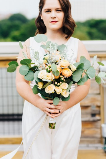 The Sweetest Autumnal Elopement Inspiration (On A Rooftop!) | Rachel Brown Kulp Photography 41
