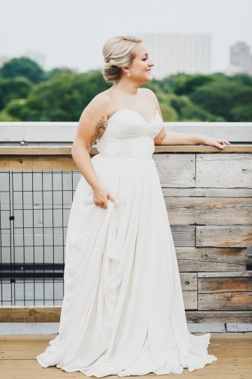 The Sweetest Autumnal Elopement Inspiration (On A Rooftop!) | Rachel Brown Kulp Photography 42