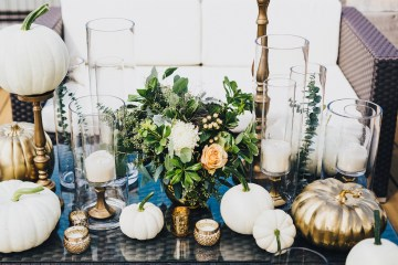 The Sweetest Autumnal Elopement Inspiration (On A Rooftop!) | Rachel Brown Kulp Photography 5