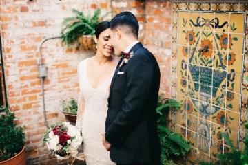 Warm Winter Wedding in a Hidden Los Angeles Italian Villa | Amanda McKinnon 11