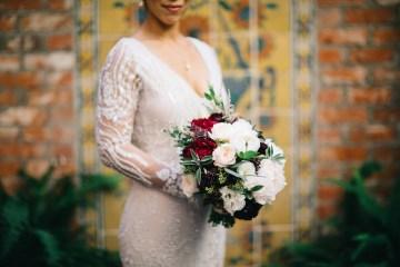 Warm Winter Wedding in a Hidden Los Angeles Italian Villa | Amanda McKinnon 14