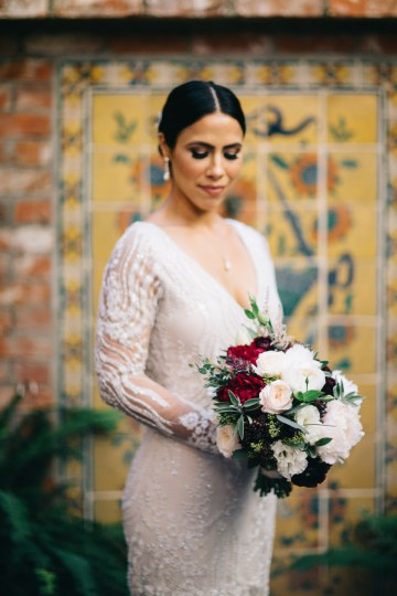 Warm Winter Wedding in a Hidden Los Angeles Italian Villa | Amanda McKinnon 45