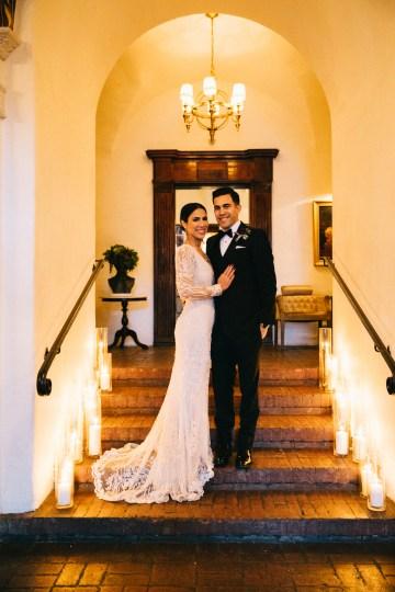 Warm Winter Wedding in a Hidden Los Angeles Italian Villa | Amanda McKinnon 49
