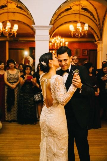 Warm Winter Wedding in a Hidden Los Angeles Italian Villa | Amanda McKinnon 65