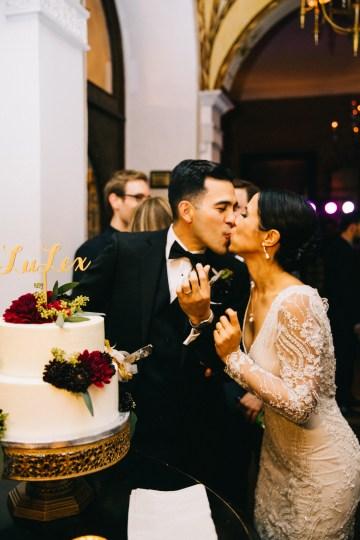 Warm Winter Wedding in a Hidden Los Angeles Italian Villa | Amanda McKinnon 66