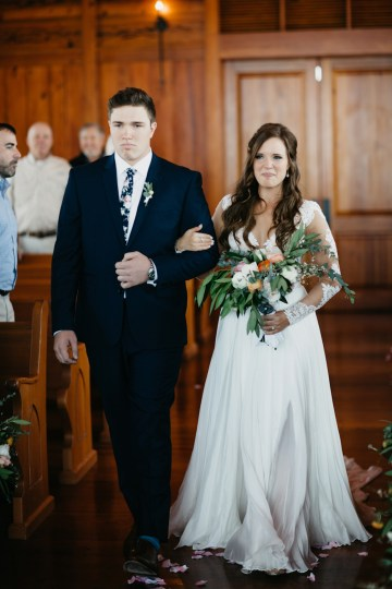 Boho Ozarks Wedding in an Magnificent Hilltop Chapel | Unveiled Radiance Photography 17