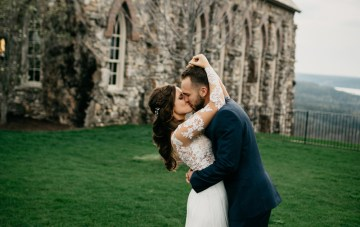 Boho Ozarks Wedding in an Magnificent Hilltop Chapel | Unveiled Radiance Photography 29