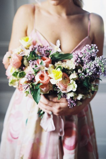 Bright & Colorful Wedding Inspiration With An Incredible Floral Dress | Rosencrown Photography 29