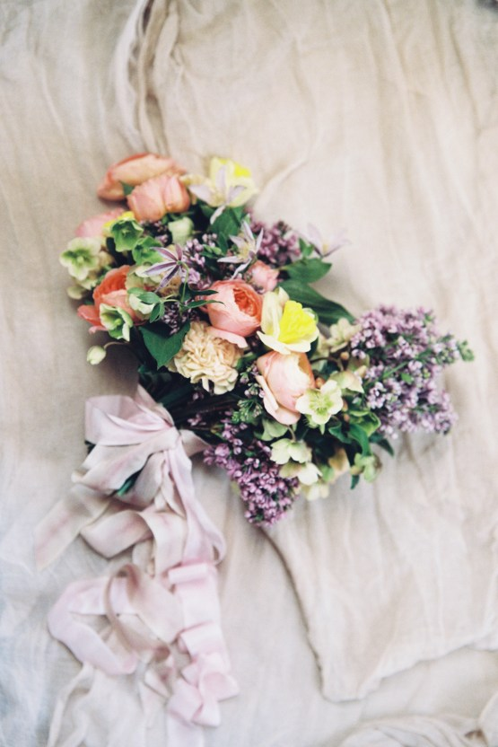 Bright & Colorful Wedding Inspiration With An Incredible Floral Dress | Rosencrown Photography 38