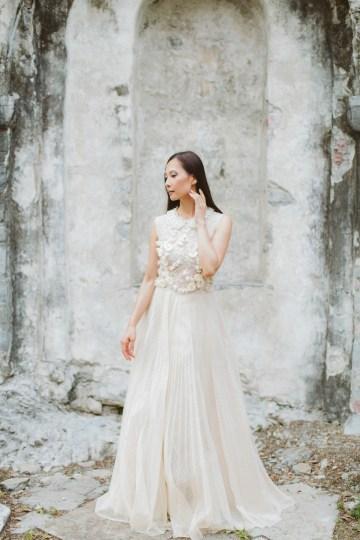 Calm, Ethereal & Romantic Lake Como Wedding Inspiration | Valentina Operandi 31