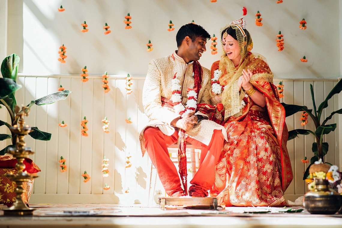 Colorful Anglo-Hindu Fusion Wedding With A Parade Of Indian Drummers | Parrot and Pineapple Photography 19