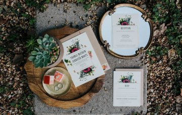 Colorful & Eclectic Americana Wedding in Texas | Amber Vickery Photography 1
