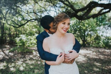 Colorful & Eclectic Americana Wedding in Texas | Amber Vickery Photography 10