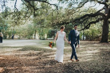 Colorful & Eclectic Americana Wedding in Texas | Amber Vickery Photography 12