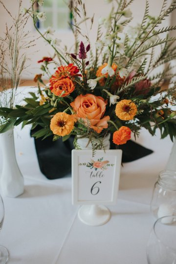 Colorful & Eclectic Americana Wedding in Texas | Amber Vickery Photography 28