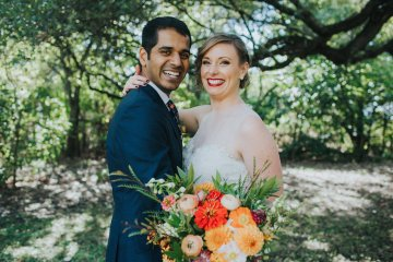 Colorful & Eclectic Americana Wedding in Texas | Amber Vickery Photography 8