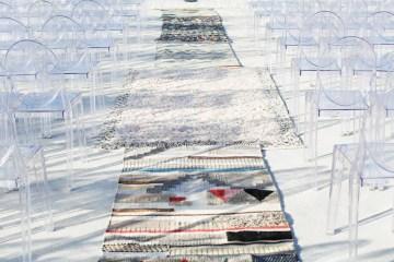 Colorful Rooftop Wedding With Geometric Modern Designs | Christian + Reinna Cruz 20
