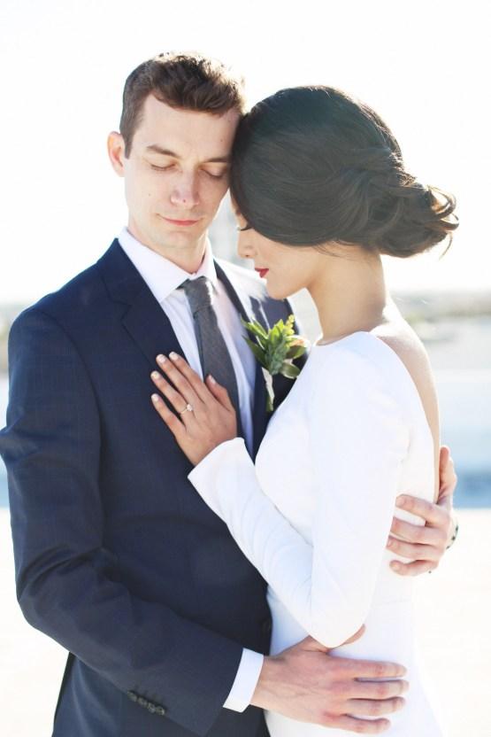 Colorful Rooftop Wedding With Geometric Modern Designs   Christian + Reinna Cruz 46
