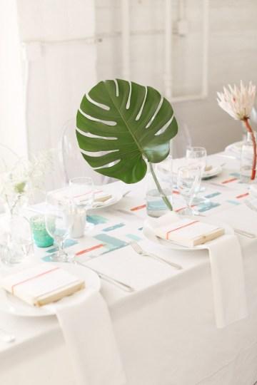 Colorful Rooftop Wedding With Geometric Modern Designs | Christian + Reinna Cruz 66