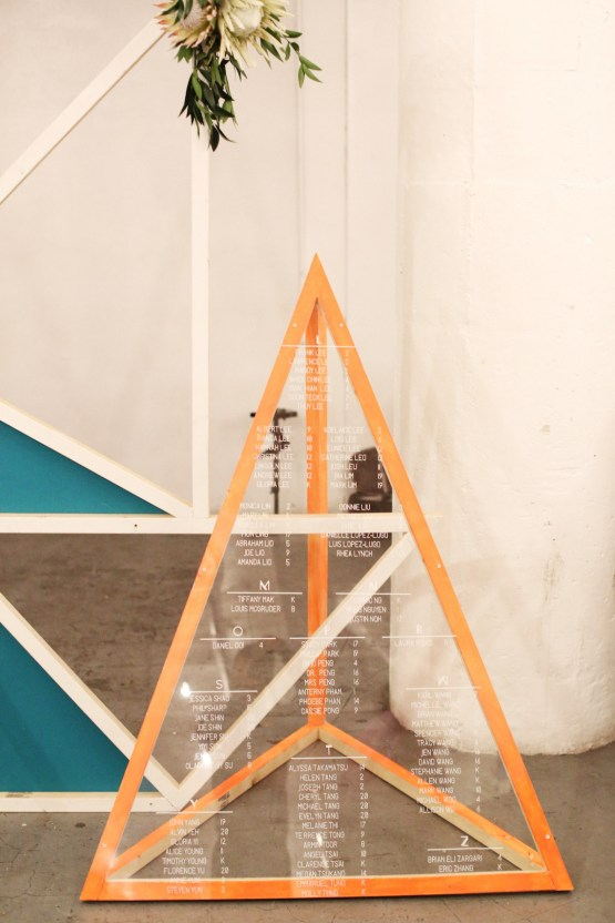 Colorful Rooftop Wedding With Geometric Modern Designs   Christian + Reinna Cruz 69