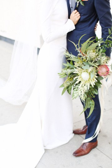 Colorful Rooftop Wedding With Geometric Modern Designs | Christian + Reinna Cruz 71