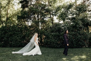 Cool Pampas Grass Wedding With Deep Berry Tones | Cedarwood Weddings 15